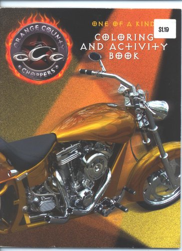 Orange County Choppers One of a Kind Coloring and Activity Book
