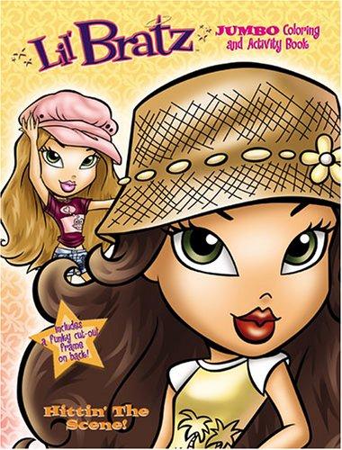 9780766616660: Lil' Bratz Jumbo Coloring Book, Hitting' The Scene! by Modern Publishing