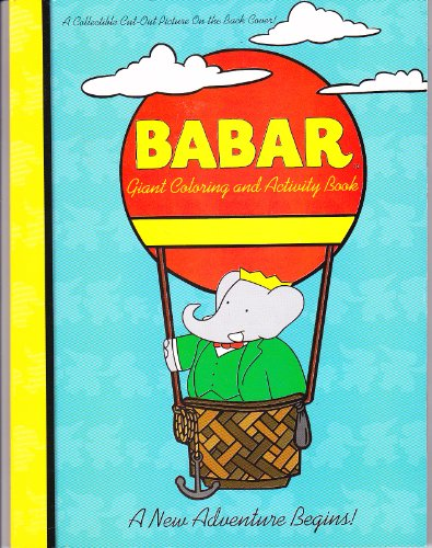 9780766616707: Babar: A New Adventure (Giant Coloring and Activity Book)