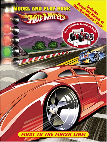9780766619111: Hot Wheels Model & Play - First to the Finish Line