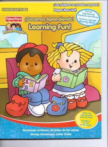 9780766620438: Fisher Price Little People Learning Fun! Gocemos Aprendiendo! Kindergarten II