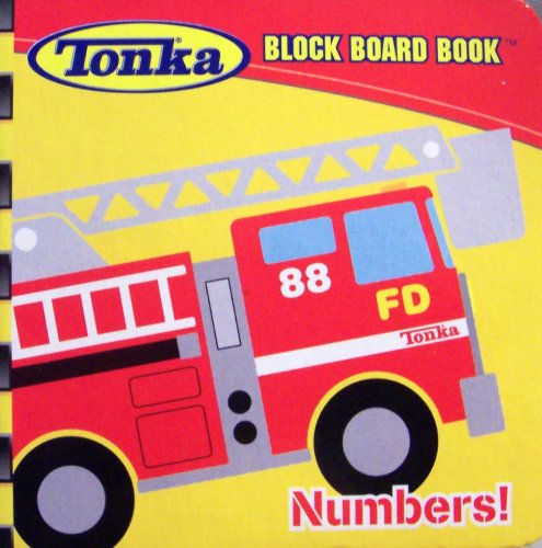 TONKA® BLOCK BOARD BOOKS® Numbers: Modern Publishing
