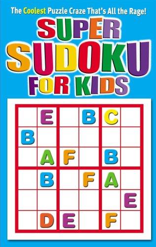 Coolest Super Sudoku for Kids: Modern Publishing