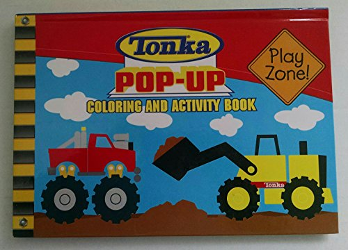 9780766622197: Tonka Pop up Coloring and Activity Book