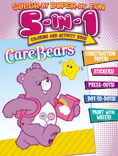 Care Bears Super-ly Super-ly 5-In-1 C & A Book: Modern Publishing