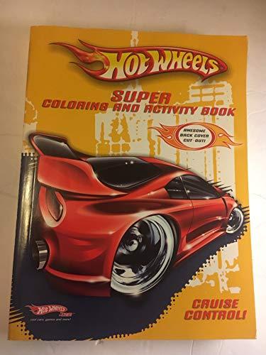 9780766623354: Hot Wheels Super Coloring & Activity Book