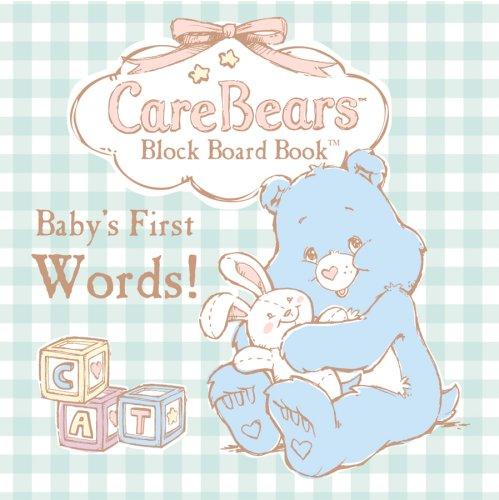 CareBears Baby Block Board Book Baby's First Words: Modern Publishing - Honey Bear Books