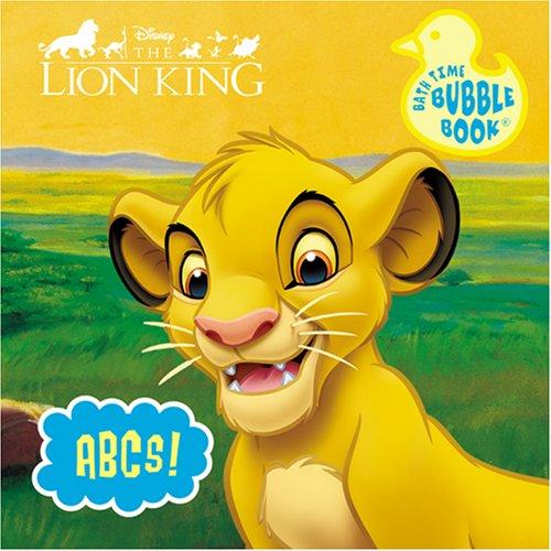 9780766625518: Disney Lion King Bath Book (Disney Bath Time Bubble: Lion King)