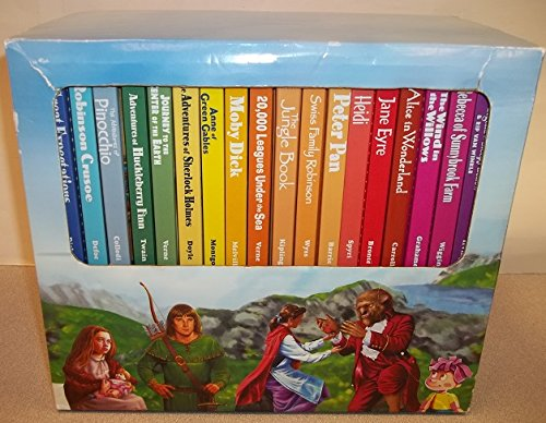 9780766625921: Treasury of Illustrated Classics 18 Book Collector's Edition