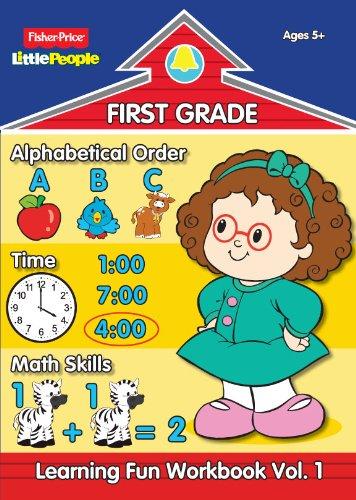 9780766628199: Fisher Price Little People First Grade Workbook-Volume 1