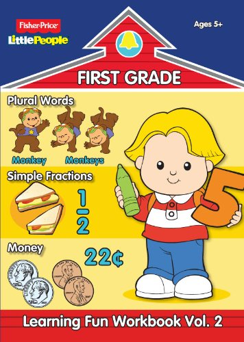 Fisher Price Little People First Grade Workbook-Volume 2: Modern Publishing