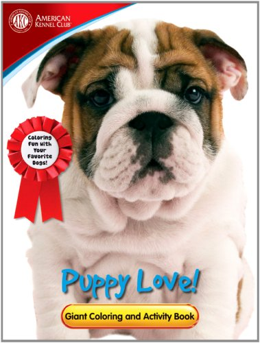 9780766629646: American Kennel Club Giant Coloring and Activity Book - Puppy Love