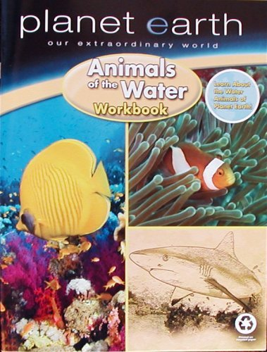 9780766630017: Planet Earth Animals of the Sea Workbook