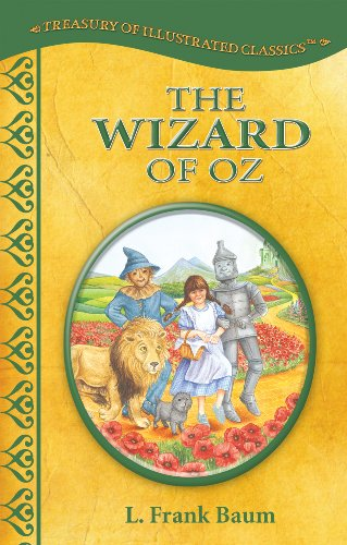 9780766631830: The Wizard of Oz-Treasury of Illustrated Classics Storybook Collection