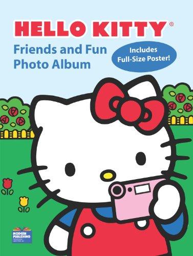 9780766635210: Hello Kitty Friends and Fun Photo Album Activity Book