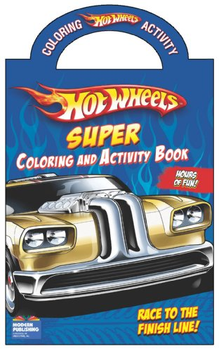9780766636279: Hot Wheels Super Coloring and Activity Book