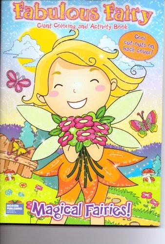 9780766636538: Fabulous Fairy Giant Coloring & Activity Book ~ Magical Fairies