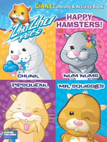 9780766637658: Zhu Zhu Pets Happy Hamsters Giant Coloring and Activity Book