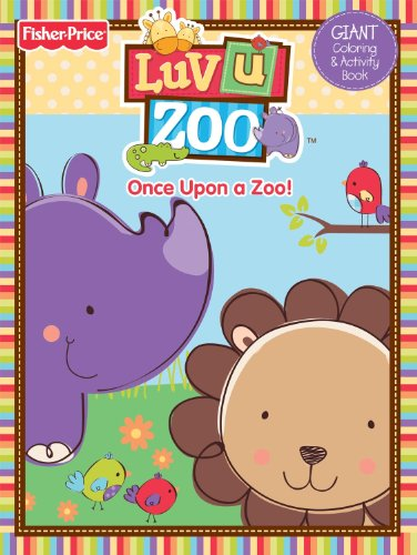 9780766638303: Once Upon a Zoo: Fisher Price (Fisher-Price Luv U Zoo)