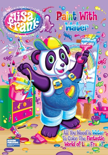 9780766639362: Lisa Frank Paint with Water Activity Book