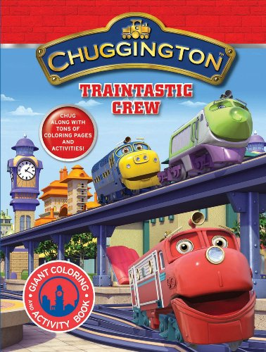 9780766639829: Chuggington Giant Coloring Book Traintastic Crew!