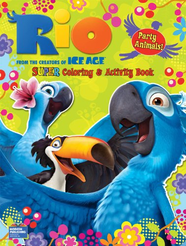 9780766640726: Rio Super Coloring and Activity Book