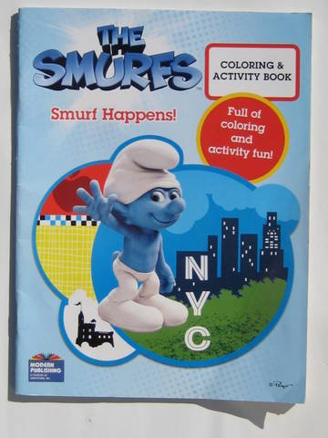 9780766641242: Smurf Happens Coloring & Activity Book