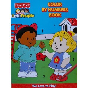 Fisher-Price Color by Numbers ~ We Love to Play: n/a