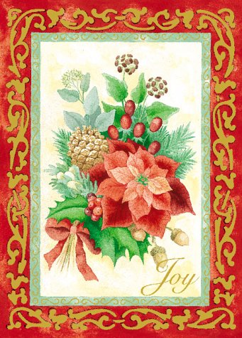 9780766794641: Holiday Elegance Boxed Cards; Evergreens
