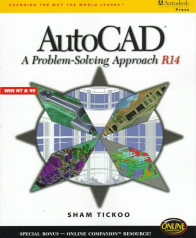 9780766801295: Autocad: A Problem-Solving Approach (Release 14)