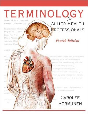 9780766802407: Terminology for Allied Health Professionals