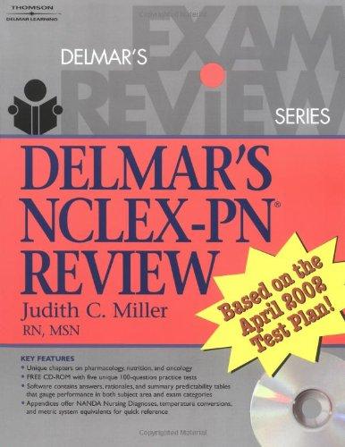 9780766802995: Delmar's NCLEX-PN Review (Delmar's Exam Review Series)