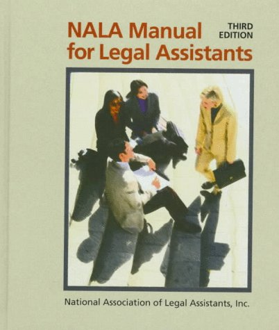 9780766803930: NALA Manual for Legal Assistants