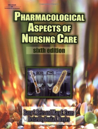 9780766805026: Pharmacological Aspects of Nursing Care