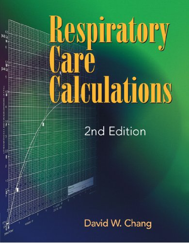 9780766805170: Respiratory Care Calculations