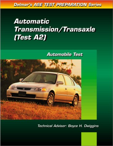 Auto Transmission and Transaxle (0766805506) by Delmar Publishers