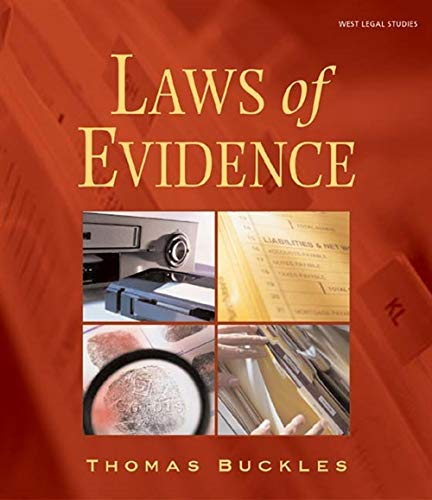 Laws of Evidence: Buckles, Thomas