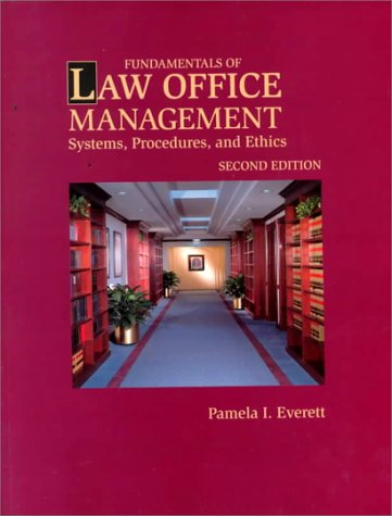 9780766808812: Fundamentals of Law Office Management: Systems, Procedures & Ethics (West Legal Studies)
