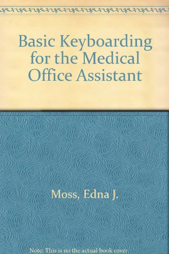 9780766809239: Basic Keyboarding for the Medical Office Assistant