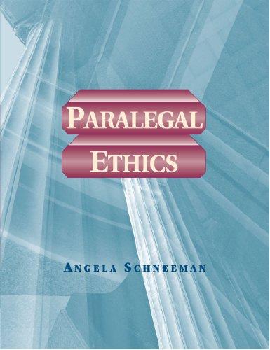 9780766809499: Paralegal Ethics (Paralegal Series)