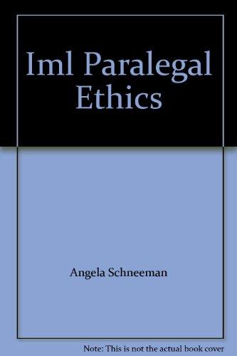 9780766809550: Paralegal Ethics