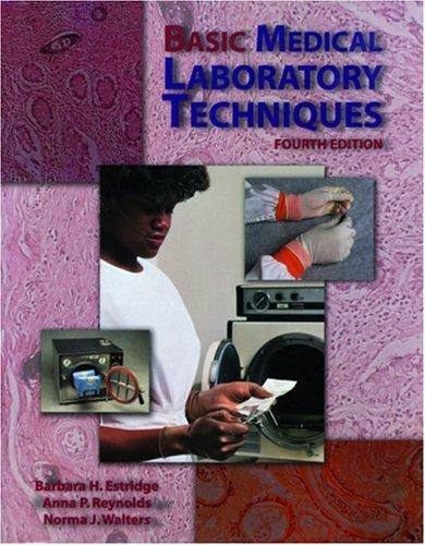 9780766812062: Basic Medical Laboratory Techniques