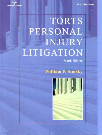 9780766812307: Torts Personal Injury Litigation
