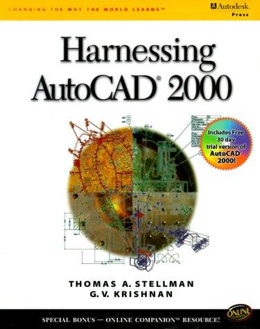 9780766812321: Harnessing AutoCAD 2000