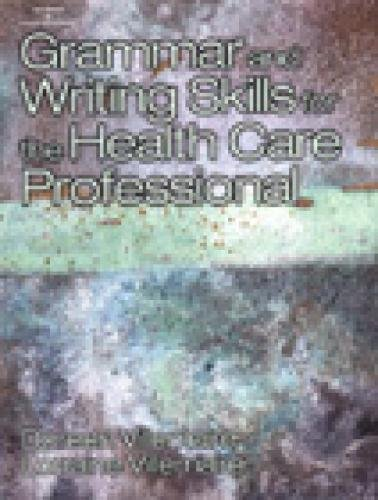 9780766812598: Grammar and Writing Skills for the Health Professional