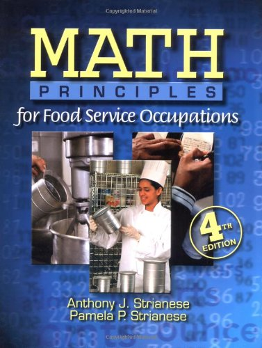 9780766813175: Math Principles for Food Service