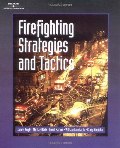 9780766813441: Firefighting Strategies and Tactics
