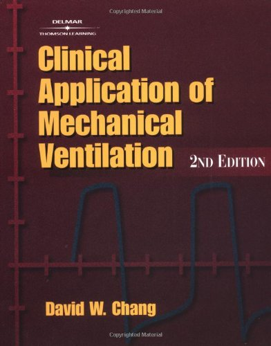 4th edition pdf of application ventilation mechanical clinical