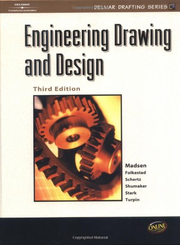 9780766816343: Engineering Drawing and Design (Drafting Series)