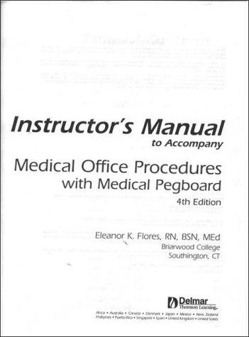 9780766816473: Medical Pegboard Procedures